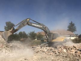 Excavator pe senile cu cupa de 1.7 mc
