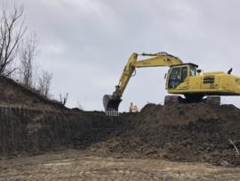 Excavator pe senile 30 to cu cupa de 1.2mc-2mc